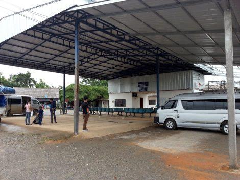 Muang Ngeun Bus Station in Laos