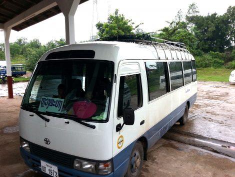 Xayaboury to Luang Prabang Bus