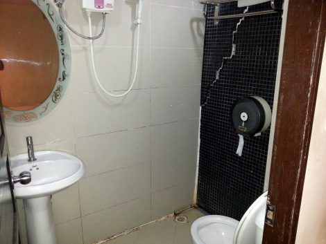 Bathroom at the Royal Express Inn