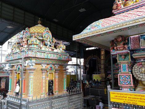 Main entrance to the Sri Maha Mariamman Temple