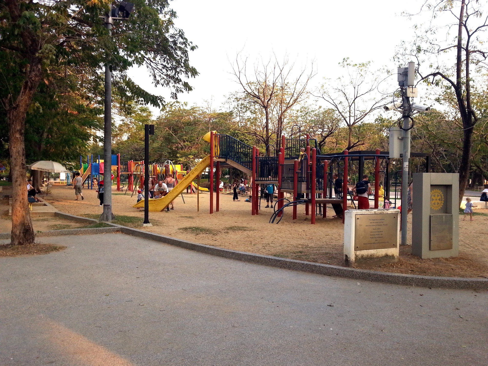 Playground at Lumphini Park