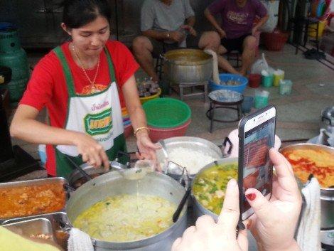 Food at Jek Pui Curry Rice