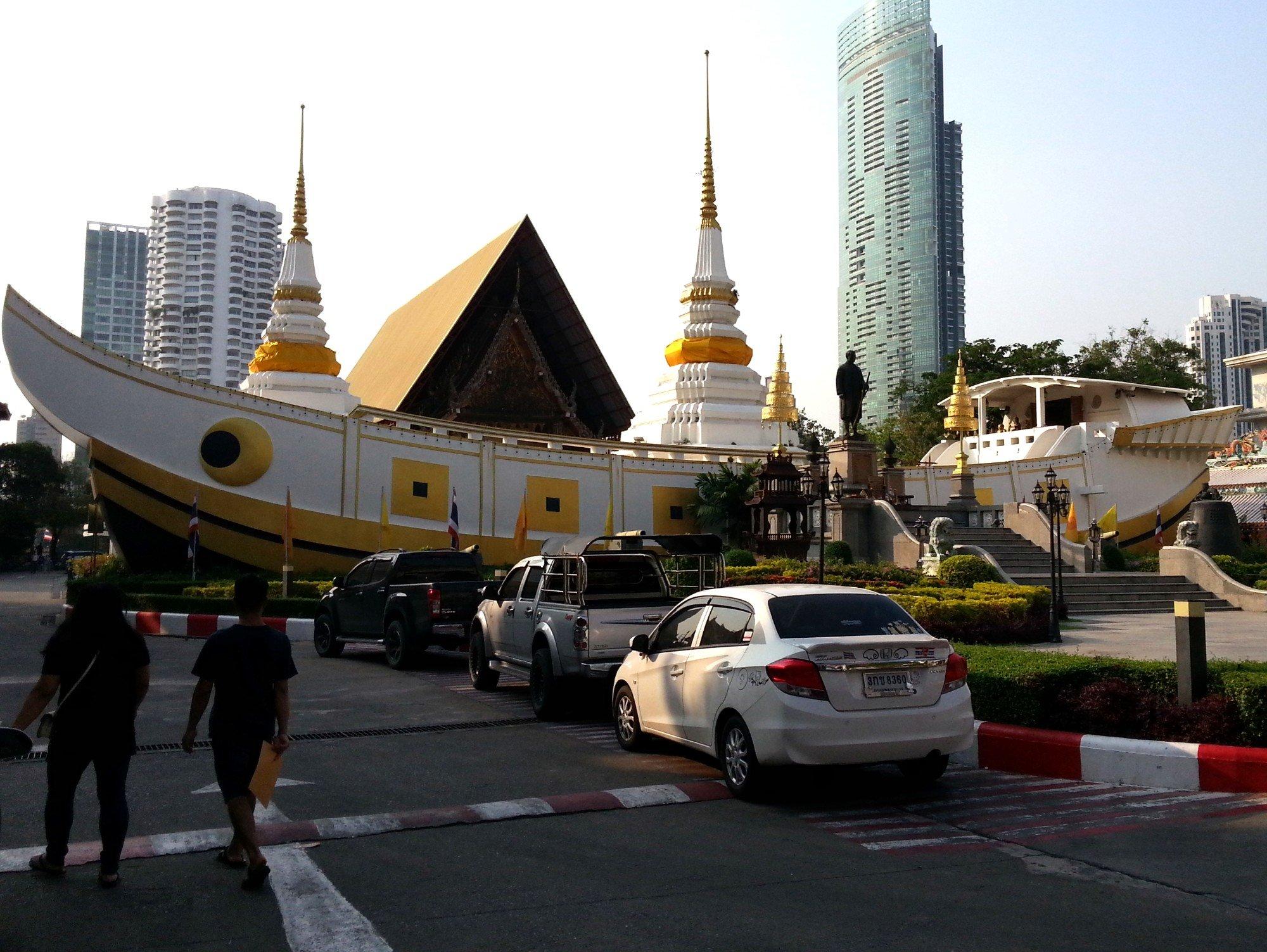 Prayer Hall at Wat Yannawa