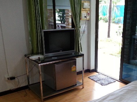 TV at the Rainbow House Resort