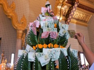 Unfortunately Thai Baht does not really grow on trees