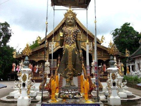 Wat Mung Muang in Chiang Rai