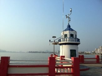 Lighthouse on the Saran Withi Bridge