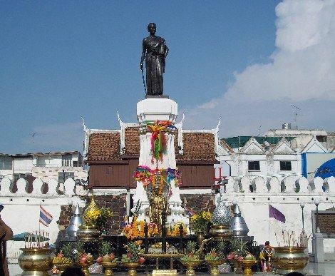 Grandma Mo statue in Nakhon Ratchasima