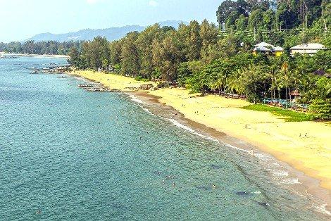 Beach front in Khao Lak