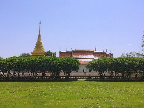 Phra That Chae Haeng Temple in Nan
