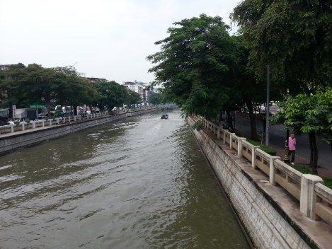 Phadung Krungkasem Canal in Bangkok
