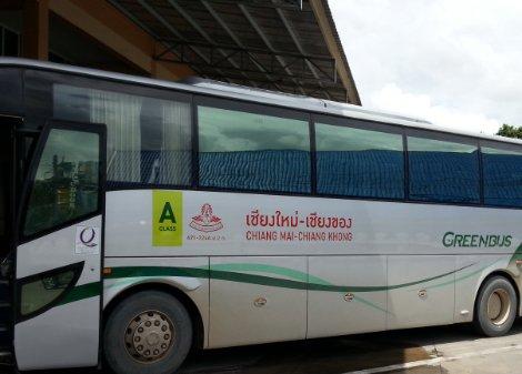 Bus from Chiang Khong to Chiang Mai
