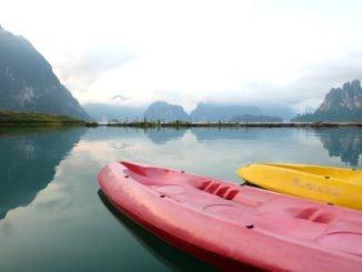 Cheow Lan Lake in Khao Sok National Park