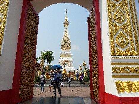 Wat Phra That Phanom is near to Nakhon Phanom