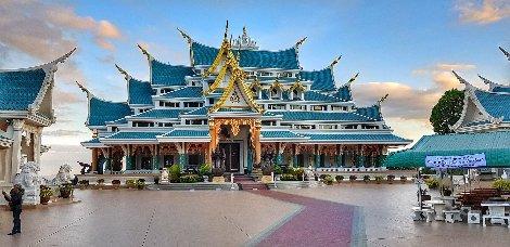 Wat Pa Phu Kon in Udon Thani Province