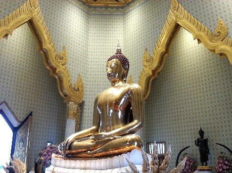 Wat Traimitr Witayaram Worawihan in Bangkok
