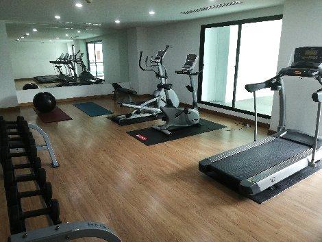 Gym at the Paripas Patong Resort