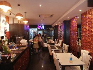 Inside seating at Tandoori Flames Phuket