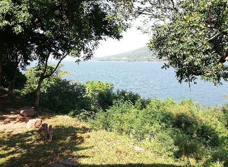 Looking south at Lumtakong Lake