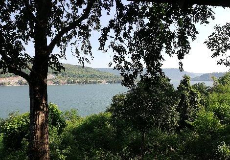 Lumtakong Lake near Nakhon Ratchasima
