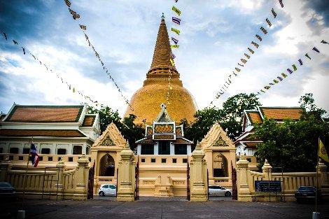 Phra Pathom Chedi in Nakhon Pathom